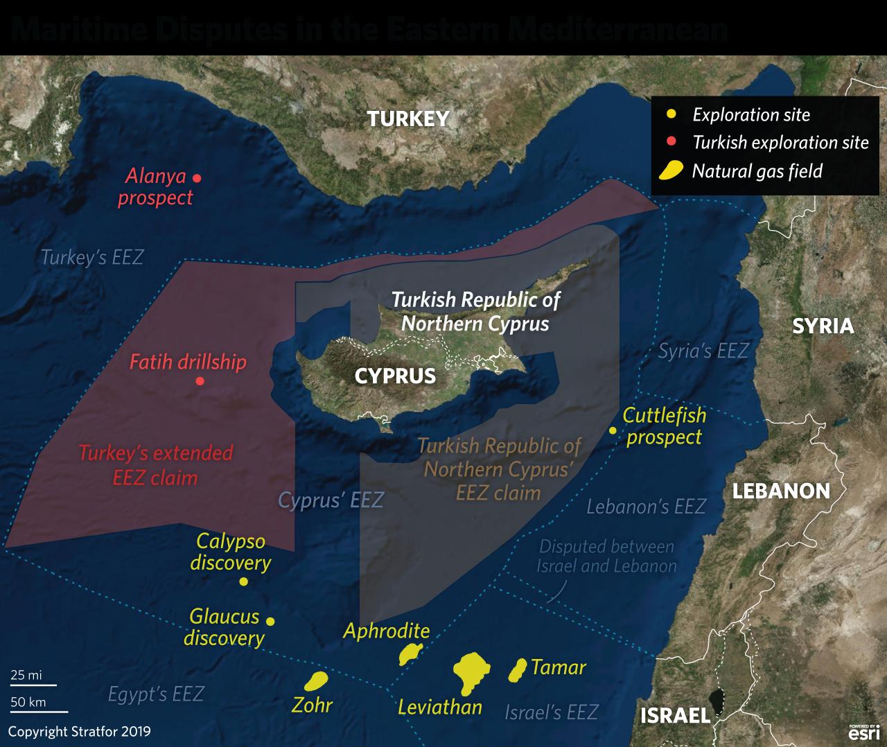 eastern mediterranean natural gas ile ilgili görsel sonucu