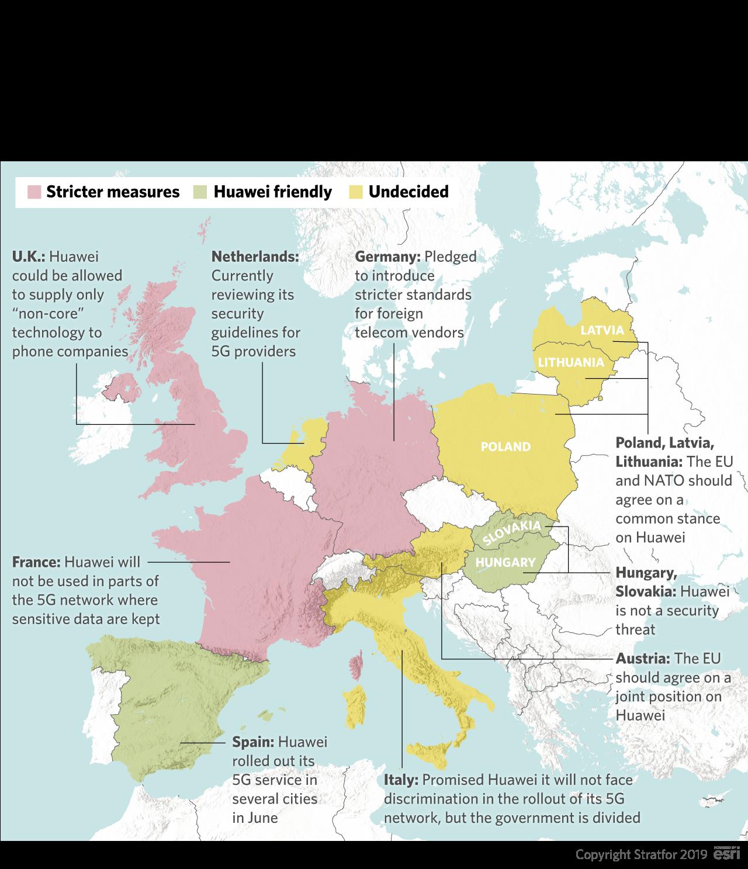Why Europe Won't Shut the Door on Huawei