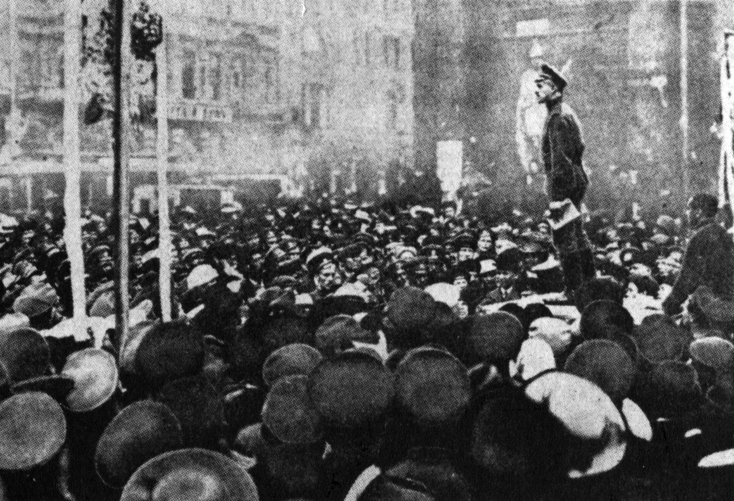 an overview of the riots in petrovgrad and the russian revolution in 1917