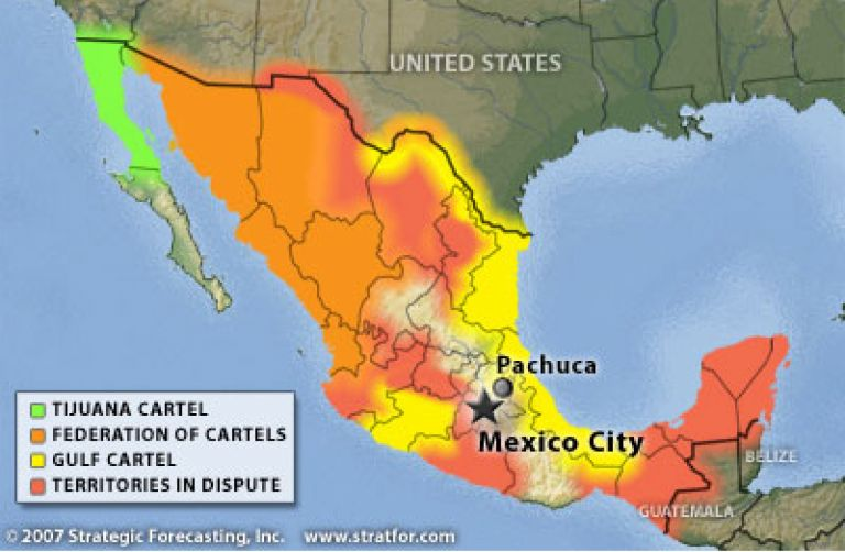 Cartels In Mexico Map.Targeting Mexico S Drug Cartels Is The Sinaloa Federation Next