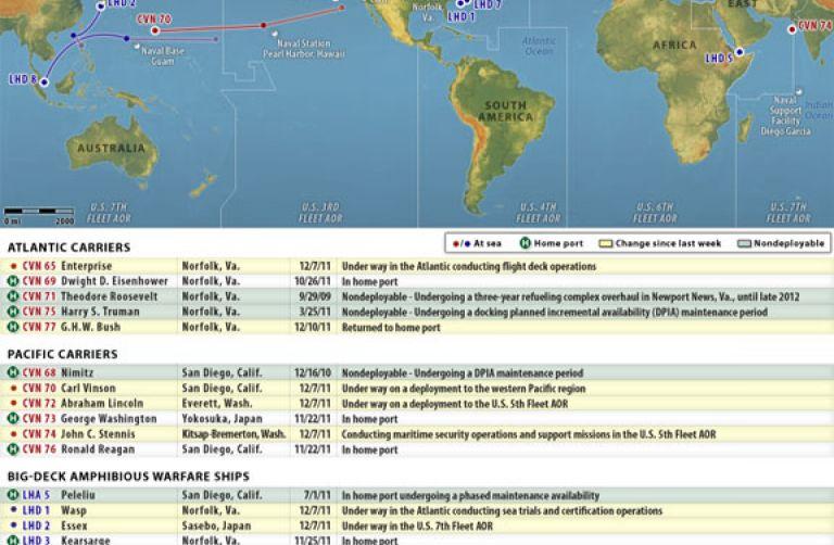 Us Map Certification.U S Naval Update Map Dec 14 2011
