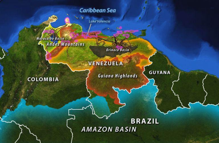 Venezuela\'s Geographic Challenge
