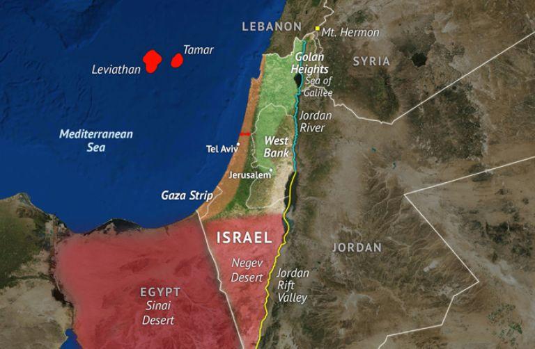 Israel's Geographic Challenge