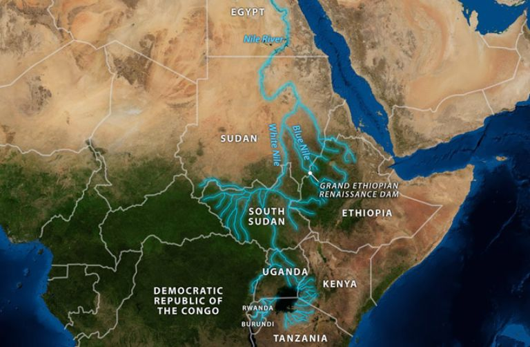 The Geopolitical Impact Of The Nile - River nile world map