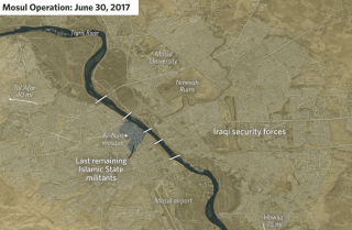 Stratfor Middle East and North Africa Analyst Emily Hawthorne examines the progress of the Iraqi operation to retake Mosul.