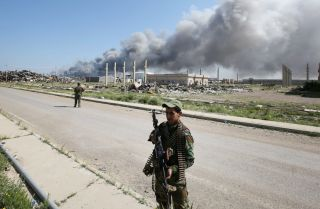 Though punishing airstrikes and offensives against the Islamic State have reduced the group's manpower, finances and areas of control in Iraq and Syria, the group is far from defeated.