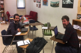 Austin's LASA high school teachers, Neil Lowenstein and Cody Moody (pictured left), generously share the details of their student project.