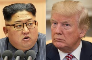 North Korean leader Kim Jong Un and U.S. President Donald Trump
