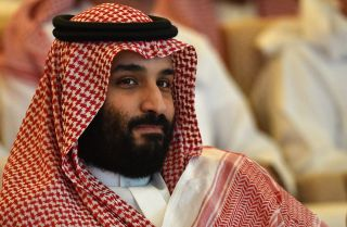 Saudi Crown Prince Mohammed bin Salman attends the Future Investment Initiative conference in Riyadh on Oct. 23.