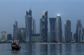 The peaceful view of Doha's skyline belies the turmoil that Qatar has experienced since Saudi Arabia, the United Arab Emirates, Bahrain and Egypt severed diplomatic and economic ties with the country.