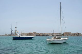 The harbor in Massawa shows some of what Eritrea has to offer to investors as a transportation hub and tourism magnet.