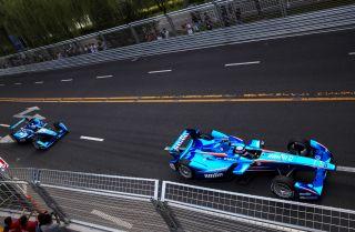 Formula E racing debuts in Beijing in 2014.