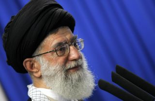 Iranian Supreme Leader Ayatollah Ali Khamenei is clearly supporting President Hassan Rouhani's sidelining of the military for economic and political reasons.