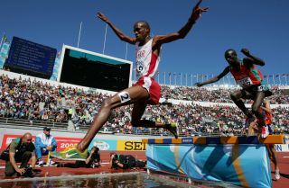 Before he became a Qatari citizen to compete in international track and field competitions for the country, Saif Saaeed Shaheen was a Kenyan named Stephen Cherono.