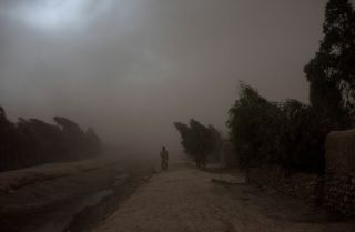 In the Surkh Rod district of Afghanistan, a man displaced by the Islamic State's Khorasan chapter makes his way home.
