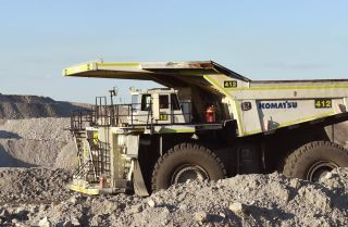 Driverless trucks in the mining industry