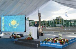 In Kazakhstan, Progress at Last at a Major Oil Project
