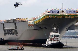 India Launches Its First Indigenous Aircraft Carrier