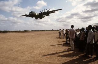 Western countries use their advanced military capabilities to protect interests in Africa. In most cases, especially when time is of the essence in a remote theater, there is no alternative to air transport.