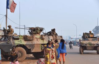 France withdrew its forces -- shown patrolling the Muslim district of Bangui -- from the Central African Republic in October 2016, following three of the bloodiest years in the country's history since it gained independence in 1960. The Central African Republic's geographic challenges and political instability bode ill for its development.