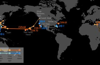 U.S. Naval Update Map: June 22, 2017 (display)
