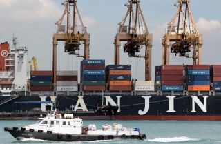 Shipping Giant Hanjin Has Hit a Rocky Shoal