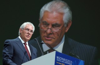 Secretary of State Rex Tillerson of the Trump administration