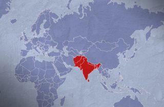South Asia Snapshot Display