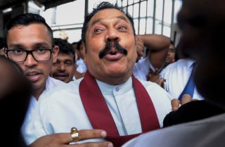 Though the central government and parliament still have a few years before the next general elections, the upheaval in Sri Lankan politics -- and a round of local elections later this year -- will test the sustainability of  Sirisena's administration.