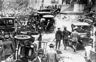 The 1920 Bombing of JP Morgan Bank On Wall Street