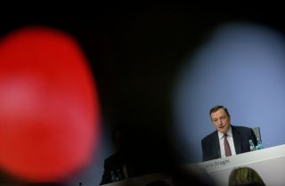 When Mario Dragui, seen through the lens of a television camera, steps down as the head of the European Central Bank in 2019, the odds-on favorite to replace him will be Germany's Jens Weidmann.