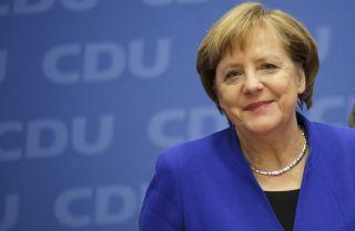 German Chancellor Angela Merkel, shown here in Berlin on Jan. 12, 2018.
