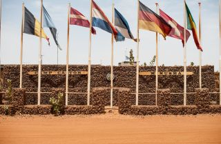 """Camp Castor"" in Gao, Mali, is part of the U.N. mission in the country."