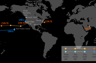 U.S. Naval Update Map: Jan. 25, 2018