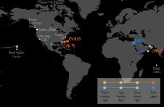 U.S. Naval Update Map: June 13, 2019