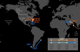 U.S. Naval Update Map: Dec. 14, 2017