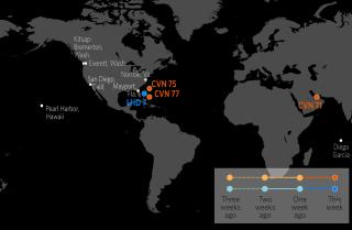 U.S. Naval Update Map: Feb. 15, 2018