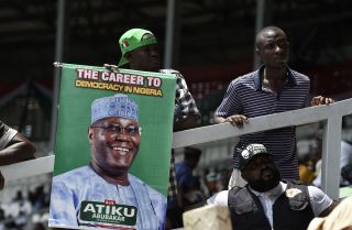 Atiku Abubakar, the candidate from the resurgent People's Democratic Party, hopes to unseat President Muhammadu Buhari, whose health concerns are a factor for Nigerian voters.