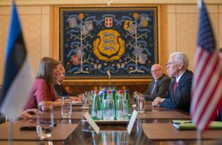 U.S. Vice President Mike Pence visited Estonia during July.