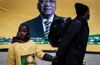 The African National Congress has ruled South Africa since Nelson Mandela became the country's first president of the post-Apartheid era, but its support is dwindling.