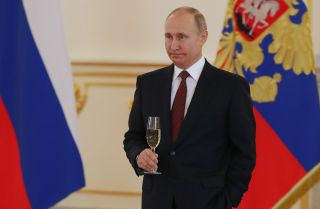 Russian President Vladimir Putin, shown here at the Kremlin in Moscow on April 11, 2018, begins his fourth term on May 7.
