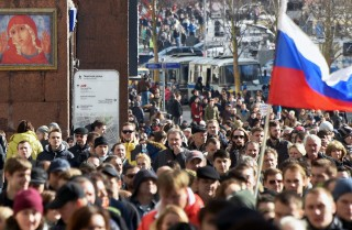 Protesters gathered by the thousands in cities across Russia on March 26 to demonstrate against government corruption. Though the protests were far smaller than the mass demonstrations that rocked the Kremlin in 2011-12, they were more widespread.