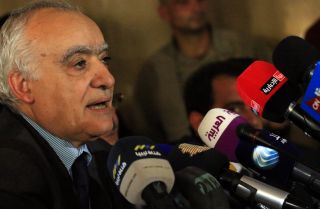 Ghassan Salame, U.N. special envoy to Libya