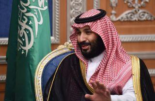 Saudi Crown Prince Mohammed bin Salman, in Riyadh, Saudi Arabia, during November 2017.