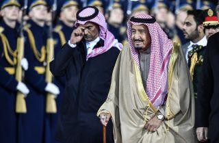 Saudi Arabia's King Salman in Moscow on Oct. 4.