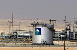 A Saudi Aramco oil facility in Dammam, about 450 kilometers east of Riyadh.