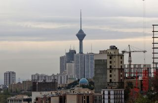 A view of Tehran, Iran.