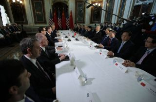 U.S.-China trade talks in Washington D.C