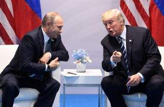 Putin and Trump meet in Hamburg, Germany on the sidelines of the G20 Summit