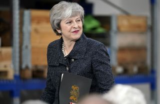 Even if the British Parliament again rejects her government's Brexit plan, Prime Minister Theresa May could delay a further vote until closer to the March 29 deadline.